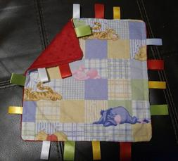 taggie security blanket you choose fabric lovey baby shower