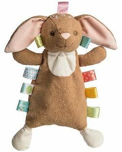 "Mary Meyer Taggies Harmony Bunny 11"" Soft Baby Lovey Blanket"