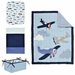 Carter's Take Flight 4 Piece Crib Bedding Set