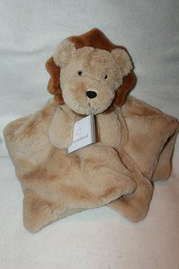 KOALA BABY tan lion Security Blanket nunu lovey Rattle super