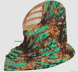 TEAL CAMO Camouflage Woods Luxury Soft Fleece Cashmere Throw
