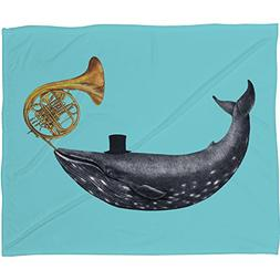 Deny Designs Terry Fan, Song Of The Sea , Fleece Throw Blank