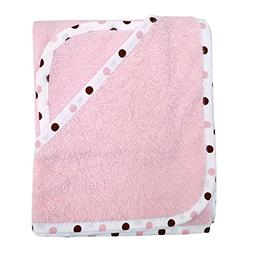 American Baby Company Terry Hooded Towel Set made with Organ