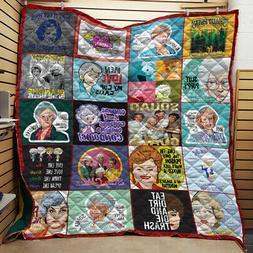 The Golden Girls Quote Fleece Blanket 3 sizes 30-80 Gift for
