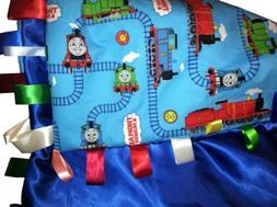 Thomas the Tank Engine Toddler Blanket Reversible with Satin