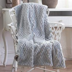 Sable Throw Blanket, Lightweight Warm Blanket Decorative Fla