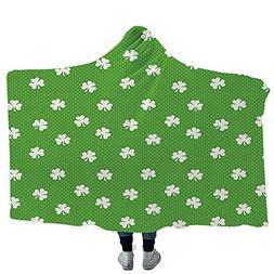 VOUCHERS Throws Blanket,Irish,Unisex Swaddle Blankets for Ba