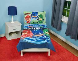 PJ Masks PJ Masks Time to Save The Day 4 pc Toddler Bedding
