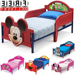 Toddler Bed Kid Frame Child Bedroom Furniture Boy Girl Princ