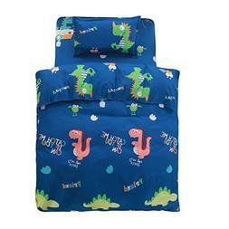 FindNew Toddler Bedding Sheet Sets, 3-Piece  Bed Set, Extra