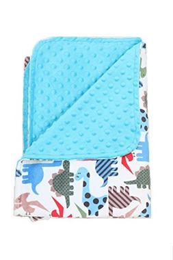 Nap Mat Carriers Toddler Blanket /Baby Blanket Minky  Dinosa