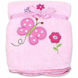Toddler Blankets Spasilk Baby-Girls Newborn Extra Thick Plus