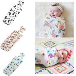 Toddler Newborn Baby Infant Swaddle Blanket Sleeping Bag Swa