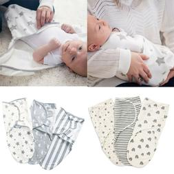 Toddler Newborn Infant Baby Kids Swaddle Soft Sleeping Blank