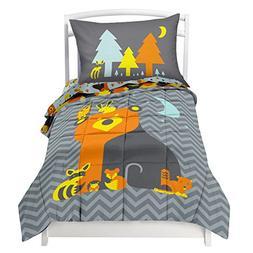 Toddler Reversible Bedding Set Woodland Creature - Adorable
