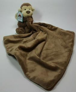 Toddler Jellycat 'Bashful Monkey Soother' Stuffed Animal & B
