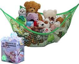 MiniOwls Toy Storage Hammock X-Large Organizer and De-clutte