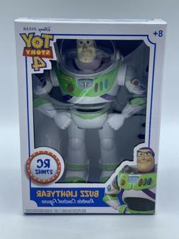 Disney Toy Story 4 Buzz Lightyear Remote Control Figure Retr
