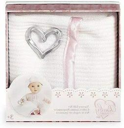 Toys R Us You & Me Baby So Sweet Knit Doll Blanket with Ratt