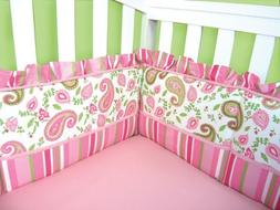 Trend Lab Crib Bumpers, Paisley Park Color: Pink NewBorn, Ki