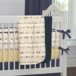 tribal arrow crib blanket