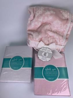 Two My Baby Microfiber Fitted Crib Sheets 28 x 52 toddler st