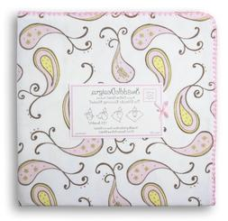 SwaddleDesigns Ultimate Receiving Blanket - Pastel Pink Pais