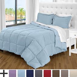 Bare Home Ultra-Soft Premium 1800 Series Goose Down Alternat
