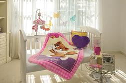 Baby Mink Ultra Soft Plush Fleece Blanket Frisky Fox
