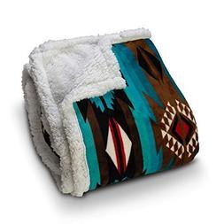 TrailCrest Ultra Soft Sherpa Fleece Throw Blanket Cozy, Plus