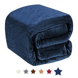 H.VERSAILTEX Twin Blanket Flannel Fleece Luxury Blanket Ligh