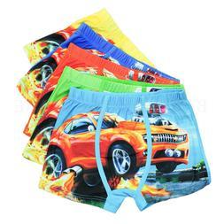 underwear cartoon boxer kids boys cotton baby