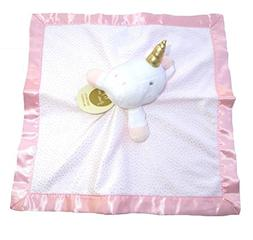 unicorn security blanket limited edition pink white baby lov