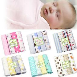 Unisex Cotton Baby Bed Sheet Newborn Crib Blanket Bedding Se