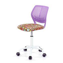 Zytho US Adjustable Fabric Teen Child Desk Chair Swivel Offi