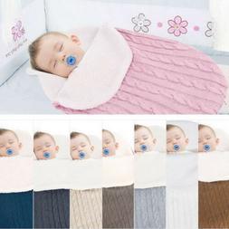 US Cute Newborn Baby Blanket Swaddle Sleeping Bag Stroller W
