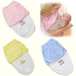 US Newborn Baby Infant Swaddle Wrap Swaddling Blanket Sleepi