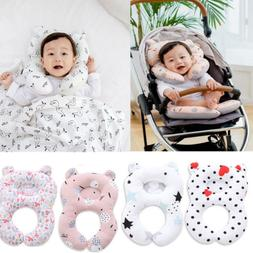 US Toddler Baby Sleep Pillow Car Seat Pillow Travel Soft Bre