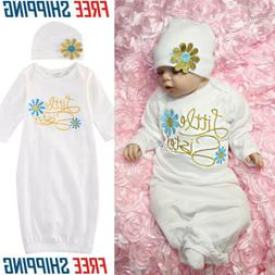USA Baby Girl Clothes Newborn girl Take Home outfit Baby Gir