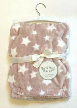 AMARI Velvet Baby Blanket - Pink 30 x 40 in / 100% Polyester
