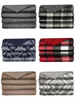 Sunbeam Velveteen Plush Heated Throw Blanket ~ Free Shipping