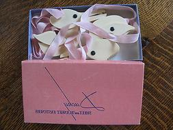 Vintage Baby Ducky Sheet and Blanket Fasteners 1940's Pink i