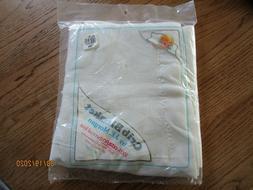 Vintage Baby Morgan Blanket ACRYLIC Thermal Waffle Weave NYL
