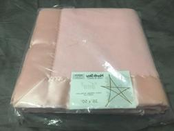 "Vintage New Baby Chatham Pink Crib Blanket ""Ann"" NWT Acr"