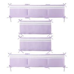 Violet Solid Reversible Bumper