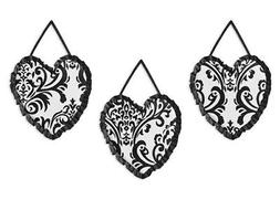 Wall Art Decor Hanging Sweet Jojo for Black White Isabella B