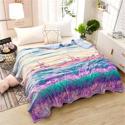 Warm Plush Soft Faux <font><b>Mink</b></font> Flannel Fleece