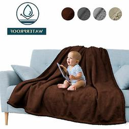 Waterproof Blanket for Couch Sofa Bed Protector Cover WaterR