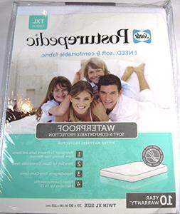 Sealy Posturepedic Waterproof Knit Mattress Protector Twin X