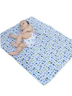 ZEFER Waterproof Reusable Changing Pad Baby Changing Mat for